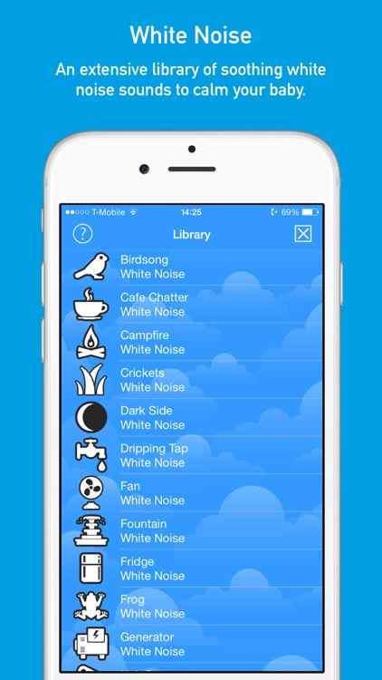 SleepHero: Baby Sleep App with White Noise Sound Machine and Voice Recorder screenshot-3