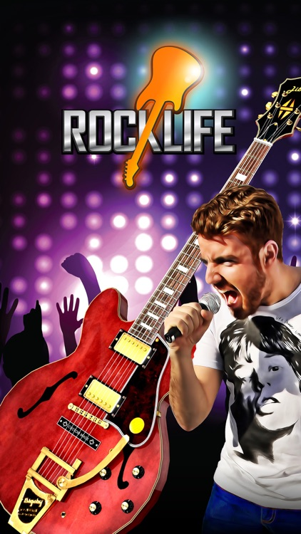 Rock Life - Guitar Band Revenge of Hero Rising Star screenshot-4
