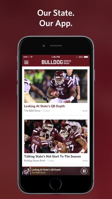 Bulldog Sports Radio screenshot one