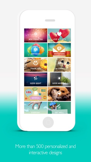 Pinnatta interactive greeting cards and everyday messages on the pinnatta interactive greeting cards and everyday messages on the app store m4hsunfo