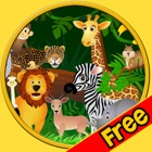 jungle animals for small kids - free icon