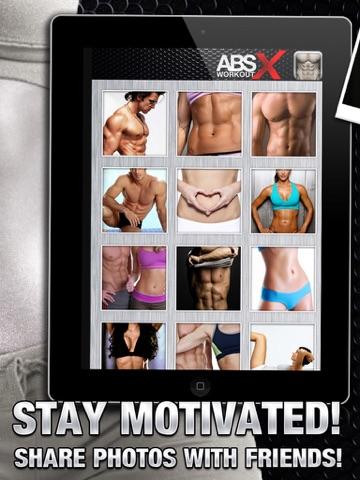 Ab Workout X PRO - Six-Pack Core Exercises & Abdomen Trainer-ipad-3
