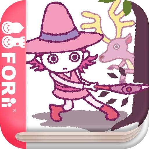 【無料版】金の斧 銀の斧 ~ぬりえで遊べる赤ちゃん・子供向けのアニメで動く絵本アプリ:えほんであそぼ!じゃじゃじゃじゃん童謡シリーズ