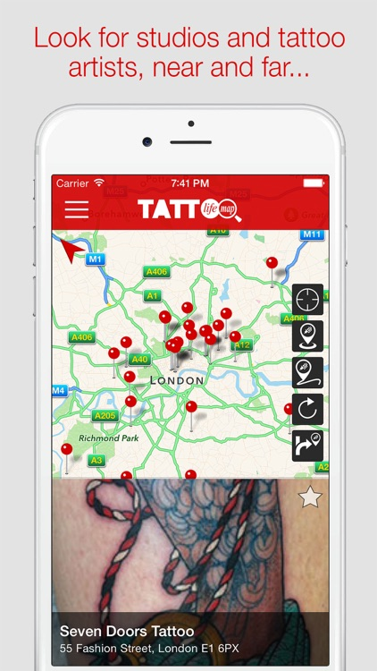 Tattoo Life Map