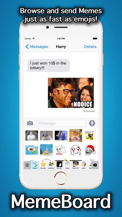 MemeBoard - Rage Faces, Memes, Stickers And Emoji Keyboardのおすすめ画像5