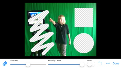 Screenshot for Green Screen by Do Ink in Indonesia App Store