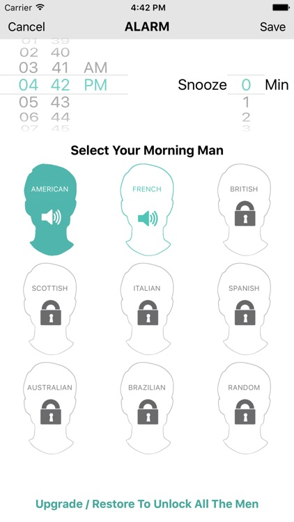 THE MORNING MAN ALARM CLOCK screenshot-3
