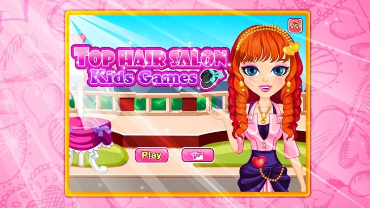 Top hair salon-Kids Games screenshot-3