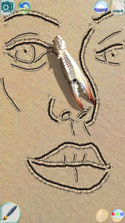 Sand Draw - The ultra realistc drawing & doodle app screenshot-3
