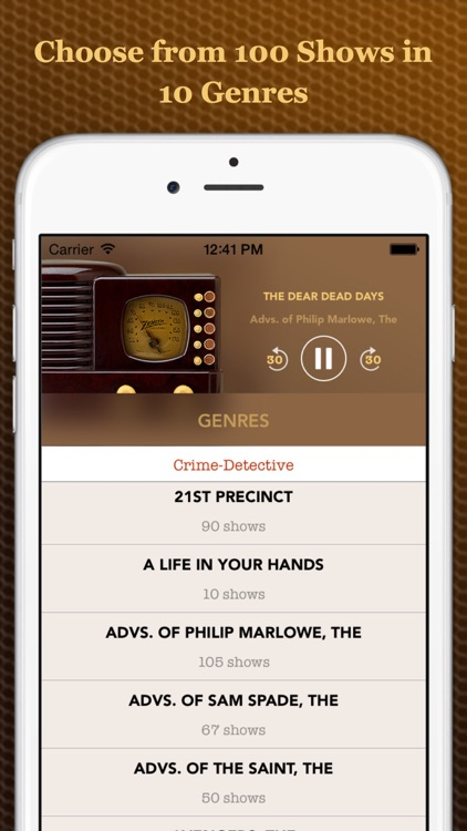 Vintage Radio Lite screenshot-1