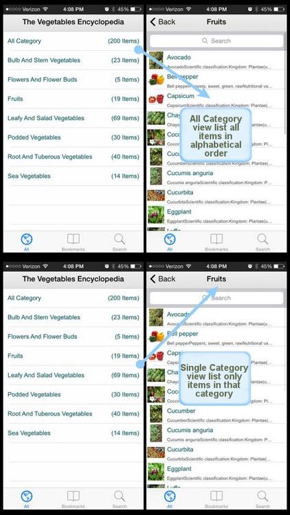 The Vegetables Encyclopedia screenshot-3