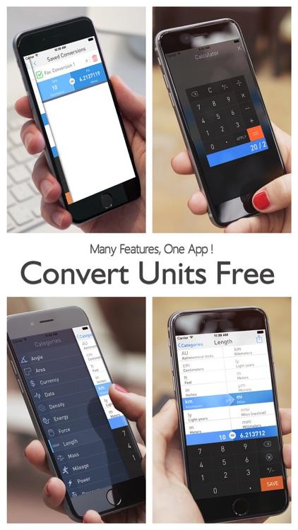 Convert Units Free -  Best Unit Converter & Currency Conversion Calculator screenshot-4