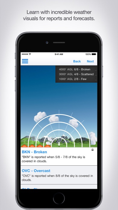 Aviation Weather Reports and Forecasts screenshot three