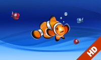 Aquarium live HD TV: Coral reef scenes with relaxing nature & ocean sounds for stress relief
