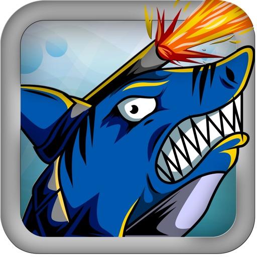Lazer Shark – Injustice and Evolution iOS App