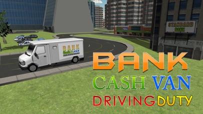 Bank cash van simulator - Transport dollars in money truck simulation game screenshot one