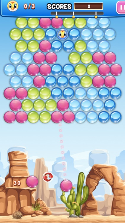 Cowboy Bubble Fancy - FREE Pop Marble Shooter Game!