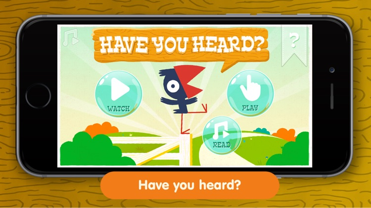 Have You Heard - kids interactive book app screenshot-0