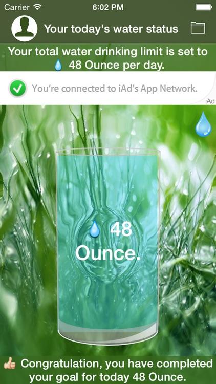 iPatientCare - Water Reminder