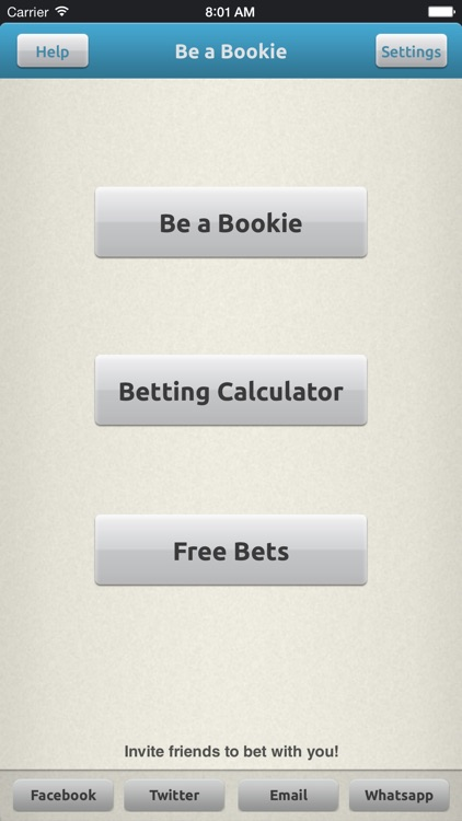 Be a Bookie