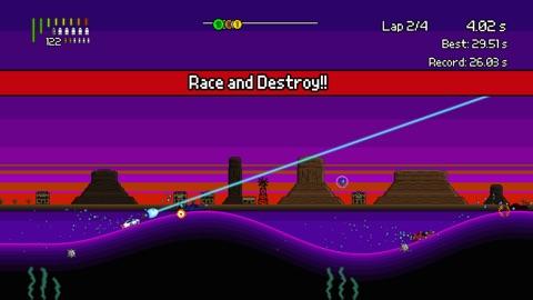 Screenshot #2 for Pixel Boat Rush TV