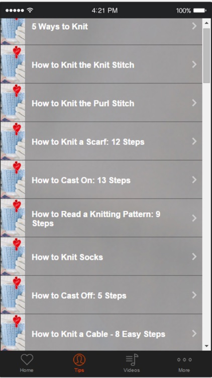 Knitting Tutorials for Beginners - Learn How to Knit Easily