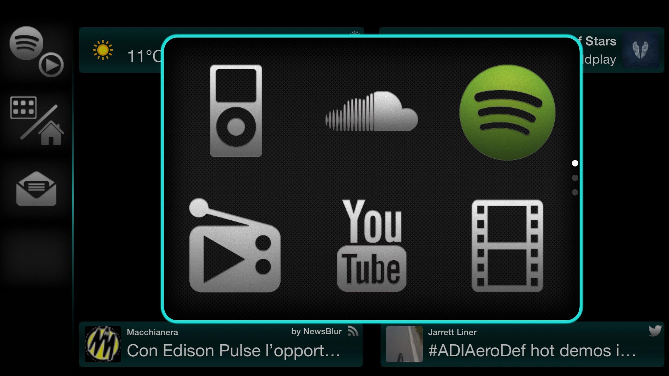 EC Touch - AppRadio & AppInCar Screenshot