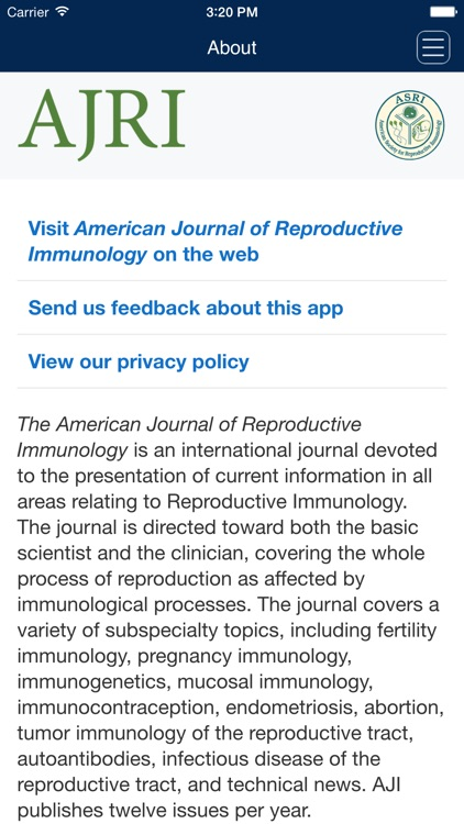 American Journal of Reproductive Immunology screenshot-3