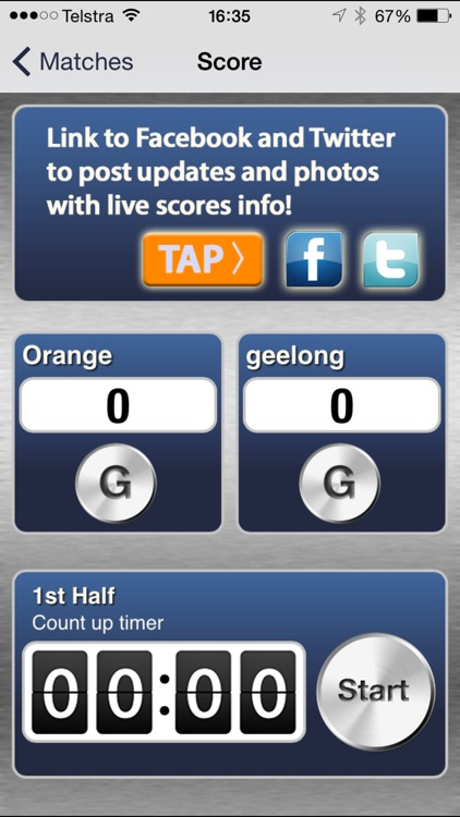 NetballScorer screenshot-0