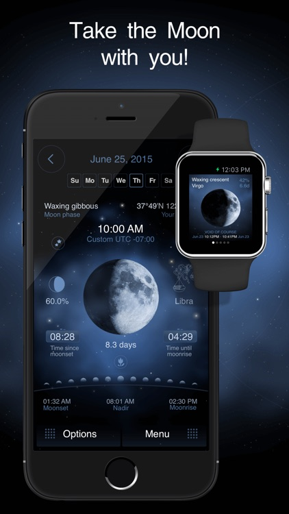Deluxe Moon Pro - Moon Phases Calendar screenshot-0