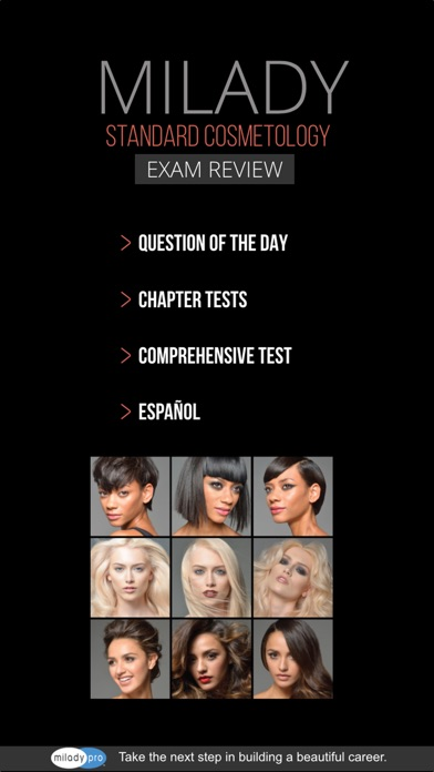Milady's Standard Cosmetology 2016 Exam Review app image