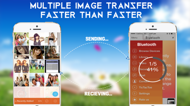 how to transfer files from android to iphone bluetooth transfer free for iphone appszoom 8243