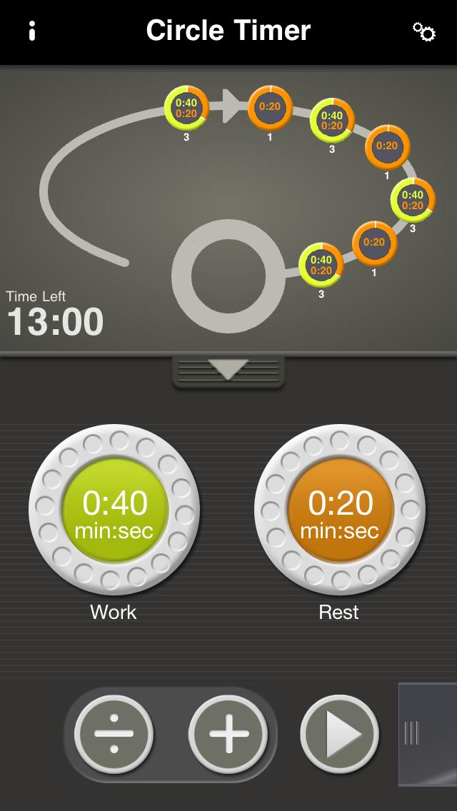 Circle Timer at AppGhost com
