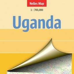 Uganda. Tourist map.