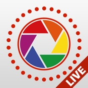Live Pictures Cam & gif photo maker: share on Facebook, Twitter and Instagram