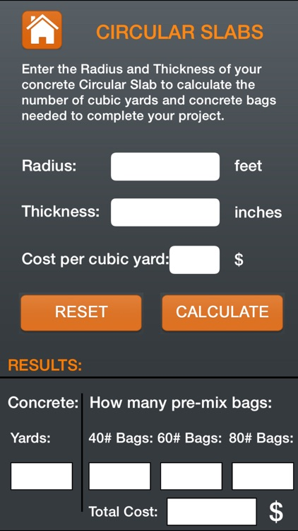 Professional Concrete Calculator screenshot-4