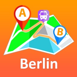 Berlin offline map with public transport route planner for my journey