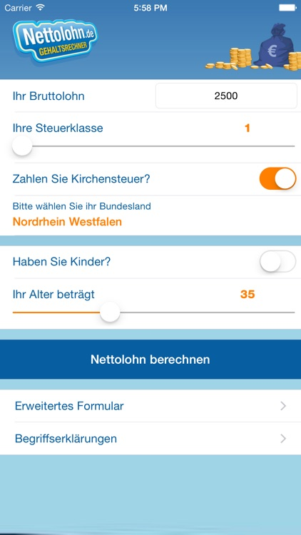 Nettolohn.de screenshot-1