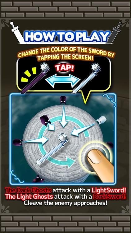 Light and Dark Sword - Free Defence Game - screenshot-3