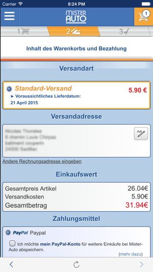 Autoteile - Mister-Auto im App Store