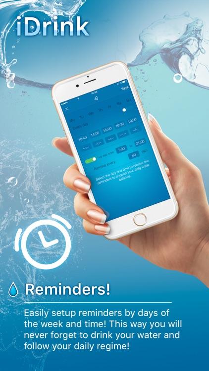 iDrink - Weight Loss and Hydration Tracker! screenshot-4