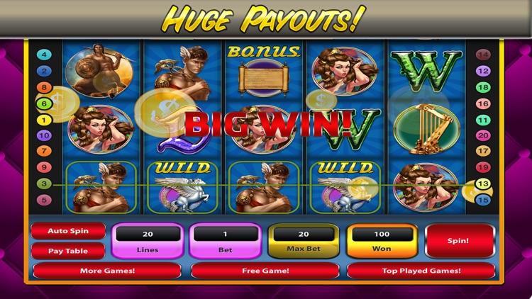 Greek Gods Slot Machine