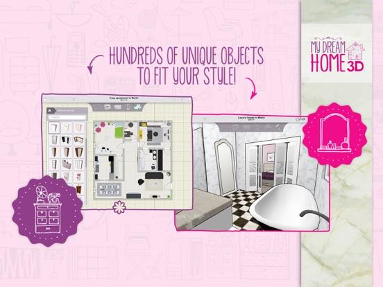 Screenshot #3 for Home Design 3D: My Dream Home