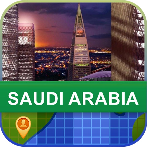 Offline Saudi Arabia Map - World Offline Maps