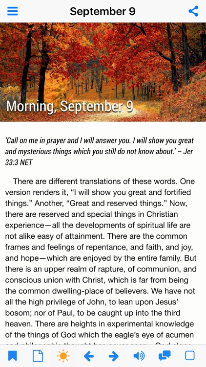 Morning and Evening With God - Daily Devotional