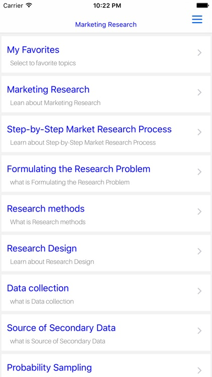 MBA Marketing Research screenshot-4