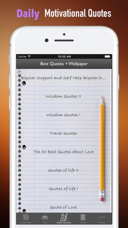 Bipolar Support and Self Help-Bipolar Disorder screenshot-4