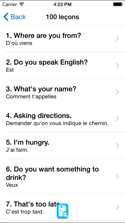English Study Pro for French - Apprendre l'anglais screenshot-3