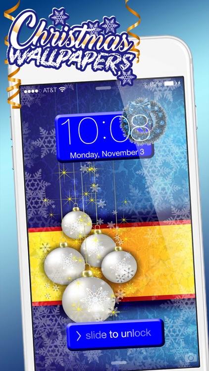 Christmas Wallpaper Collection Winter Background screenshot-3