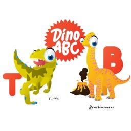ABC Dinosaur Big Eye Collection Stickers Mania
